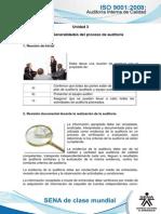 Tema 1. Generalidades Del Proceso de Auditoria