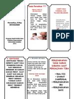 Leaflet Jurnal Meza