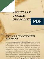 Escuelas y Teorias Geopolitica