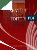 Sfaturi Catre Editori