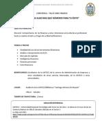 Conferencia - Taller Finanzas (Enviar)