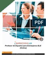 Profesor de Espanol Para Extranjeros Ele Online