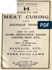 Secrets of Meat Curing