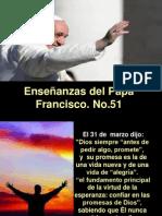 Enseñanzas del Papa Francisco - Nº 51
