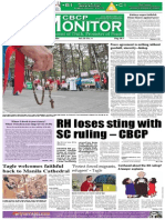 CBCP Monitor Vol. 18 No. 8