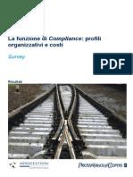 Survey Funzione Compliance 2010 ITA