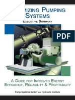Optimizing Pumping Systems (OPS 9 - Executive_Summary