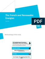 Poll France Energie Eolienne With CSA Survey Institute - The French and Renewable Energies