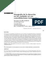 Etnografia de La Duracion