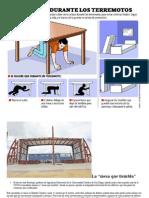 Protección durante un terremoto