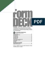 Floor, Form, Roof Steel Deck Manual, Vol 03 Form Deck - 1997 United Steel Deck