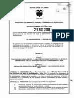 Decreto 3200 de 2008