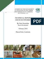 Socio Economic Report