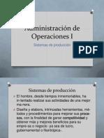 Administración de Operaciones I UI