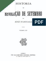 Historia da revolução de Setembro, por José de Arriaga,vol. 3