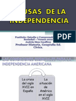 2D Independencia Causas