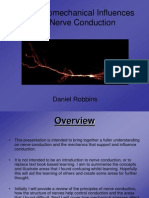 Nerve Conduction Neurobiomechanics