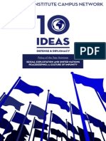 10 Ideas for Defense & Diplomacy, 2014
