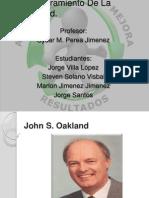 Oakland - Aseguramiento de La Calidad
