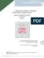 Fundamentos didácticos de la lengua y la literatura