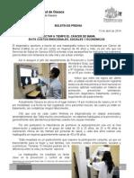 13/04/14 DETECTAR A TIEMPO EL CÁNCER DE MAMA EVITA COSTOS EMOCIONALES, SOCIALES Y ECONÓMICOS