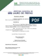 Decreto Lauro