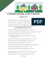 Communities & Towns