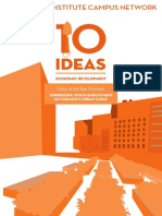 10 Ideas for Economic Development, 2014