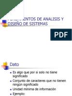 Fundamentos de Analisis y Diseño