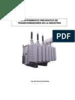 MANTENIMIENTO PRVENTIVO DE TRANSFORMADORES EN LA INDUSTRIA.pdf