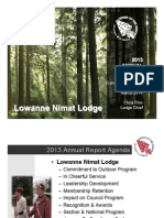 2013 Lowanne Nimat Annual Report