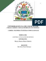 Universidad Auditoria Gaby