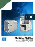 BCT 081 Manual de Instalacion Minichillers y Chillers Modulares