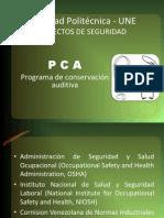 Aspectos de Seguridad - PCA