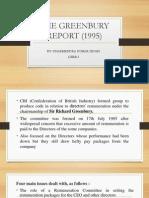 The Greenbury Report (1995)