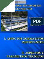PARÁMETROS TÉCNICOS EN PIPS DE SANEAMIENTO