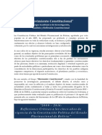 Convocatoria Movimiento Constitucional (Ensayos 2014)