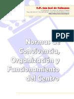 Normas de Organización y Funcionamiento Colegio