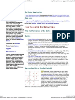 Sudoku tips  How to solve Sudoku  The mathematics of Su Doku
