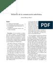 Merayo Arturo Didactica Comunication Radiofonica