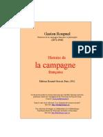 Roupnel Gastonhistoire Campagne Fr