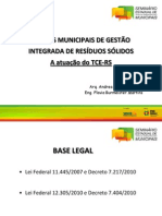 Palestra 2 - Atuação do TCE_Planos Municipais de Gerenciamento de Resíduos Sólidos - Por Andrea Mallmann Couto e Flavia Burmeister Martins_3