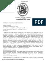 TSJ Regiones - Decisión FONFINEP 2009