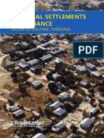 Informal Settlements and Finance in Tanzania