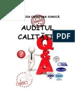 Auditul Calitatii - Curs