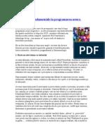NLP Programare Neuro Lingvistica