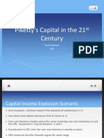 Piketty's capital in the 21st century