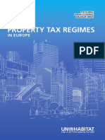 Property Tax Regimes in Europe