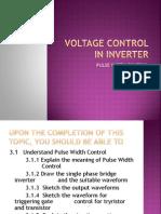 Voltage Control in Inverter-pwc