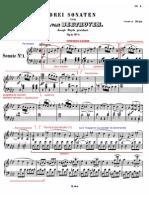 Beethoven Sonata Op2 n1 Allegro